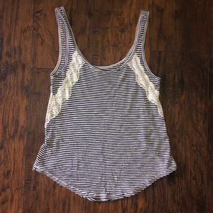 Aerie Striped Tank Top.